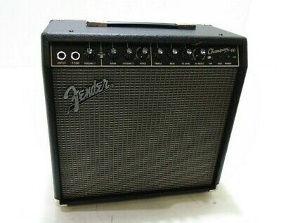 Fender Champion 40 Combo W/ Effects-DAMAGED-RRP £154 • 137£