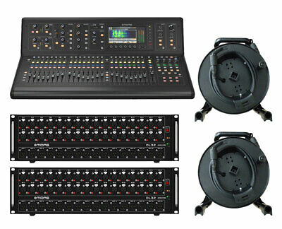 Midas M32 Live Digital Mixer + 2x DL16 Stage Boxes + 2x 150' Cat5 Cable Spools • 6,201.99£