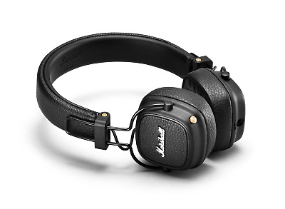 Marshall Major III Bluetooth On-Ear Headphone, Black • 114.99£