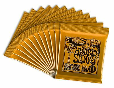 Ernie Ball 2222-12 Hybrid Slinky Electric Guitar Strings (12 Sets) 12 Pack • 101.99£
