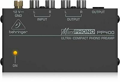 Behringer PP400 Microphono Ultra Compact Phono Preamp • 33.99£