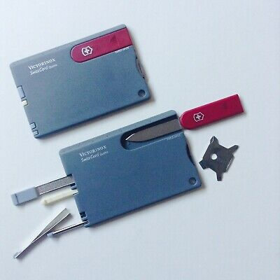 Victorinox Swiss Card Quattro Multi-function Credit Card Sized Pocket Tool • 23£