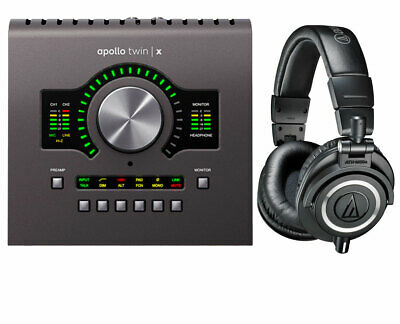 Universal Audio Apollo Twin X Duo Audio Interface + Audio-Technica ATH-M50X • 673.66£