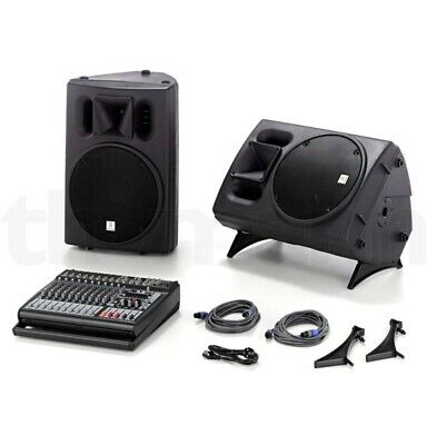Behringer PMP 4000 Bundle & Fun Generation Speaker Stand Pair • 499£