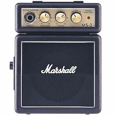 MS2 Micro Guitar Amplifier Black Portable: Amplifier • 29£