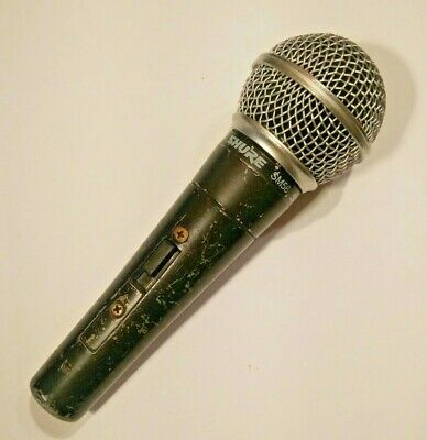 Shure SM58 S - Legendary Dynamic Vocal Microphone With On/off Switch • 73£