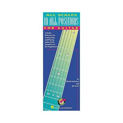 Hal Leonard All Scales In All Positions For Guitar • 6.58£
