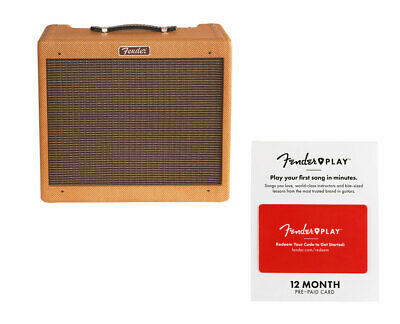 Fender Blues Junior - Lacquered Tweed + Fender Play 12 Month Card • 438.88£