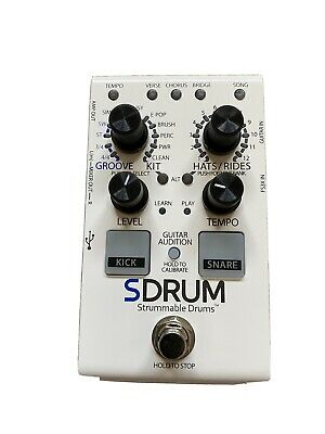 DigiTech SDRUM Strummable Drums Pedal In Top Condition • 62£