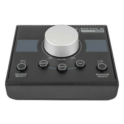 Mackie Big Knob Passive 2x2 Studio Monitor Controller Interface USB  • 74.99£