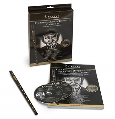 WTCD The NEW Original Tin Whistle Teaching Set - includes book, CD, Original in