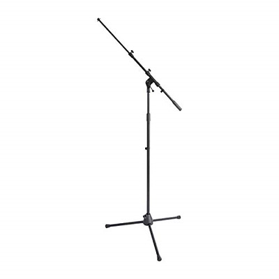 On Stage Stands MS7701TB Telescoping Euro Boom Mic Stand - Black • 36.75£