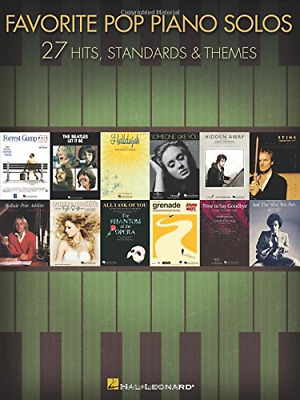 Favorite Pop Piano Solos - 27 Hits And Themes • 13.09£