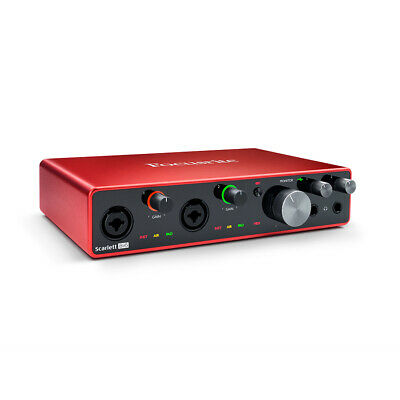Focusrite Scarlett 8i6 3rd Gen 8-In 6-Out USB Audio Interface, New! • 226.98£
