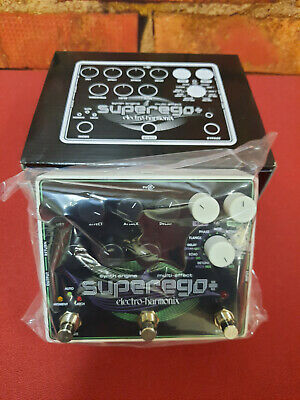 Electro-Harmonix Superego Plus Polyphonic Synth Engine Pedal - Open Box - MINT! • 165.86£