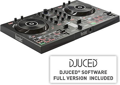 Hercules DJControl Inpulse 300 - DJ Controller With USB - 2 Tracks With 16 Pads • 190.14£