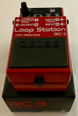 Boss RC-3 Loop Station - Boxed • 115£