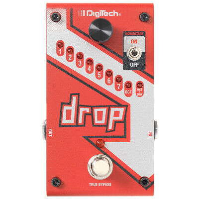 Digitech The Drop Polyphonic Drop Tune Pitchshifter, New! • 164.56£