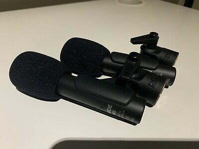 """RØDE M5 Matched Pair Of Compact 1/2"""" Condenser Microphones • 54£"""