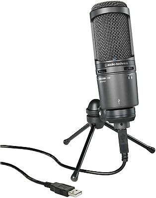 Audio-Technica USB Condenser Microphone AT2020USB+ From Japan New • 154.60£
