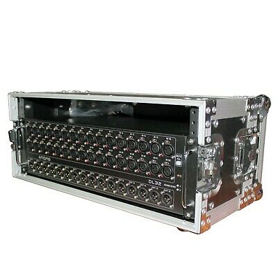 ProX X-4U7D 4U Deluxe Rack Case For Midas DL32, S32, DL16, S16 Snake W/Handle • 97.28£