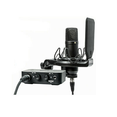 Rode NT1 AI-1 Kit Complete Studio Solution Kit, New! • 310.74£