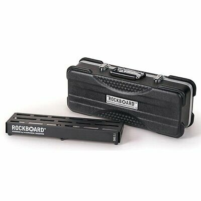 RockBoard DUO 2.1 Pedal board with ABS Case 470 x 142 mm, RBO B 2.1 DUO A