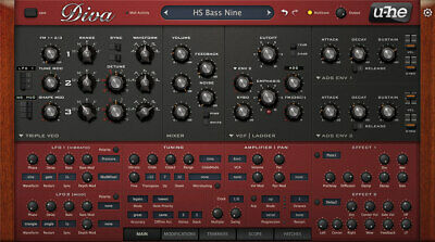 Diva VST (mac) U-he Full Bundle Pack • 15.58£