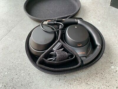 Sony WH-1000XM3 Wireless Noise Cancelling Headphones - Black (Great Condition) • 78£