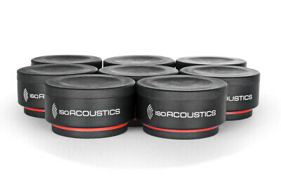 IsoAcoustics Iso-Puck Mini Isolation - Set Of 8 • 72.76£