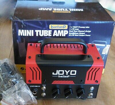 Joyo Bantamp Jackman Mini Tube Amp / Amplifier Head / 20 Watts / Bluetooth • 113.32£