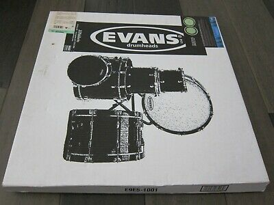 EVANS 20  EMAD CLEAR BASS DRUM HEAD KICK 22 24 G1 G2 EQ 4  HYDRAULIC COATED NEW • 21.26£