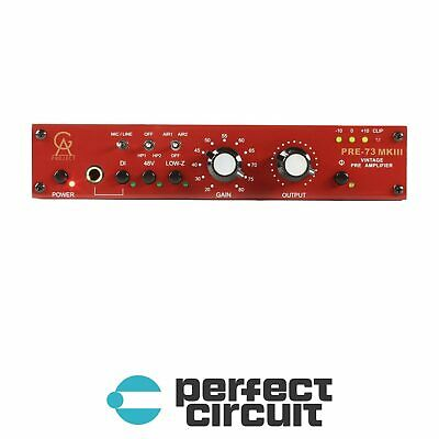 Golden Age Pre-73 MKIII Microphone Preamp PRO AUDIO - NEW - PERFECT CIRCUIT • 271.52£