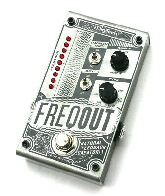 Digitech Freqout Natural Feedback Creator Guitar Pedal Boxed Great Condition • 48£