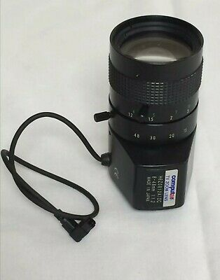 Computar H6Z0812AIDC 8-48mm 1:1.2 TV Zoom Lens Used But Looks New No Dust/marks • 37.50£