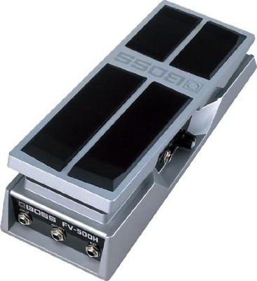 BOSS FV-500H High Impedance Volume Pedal, Ultra-Smooth Pedal Movement & Aluminum • 95.43£