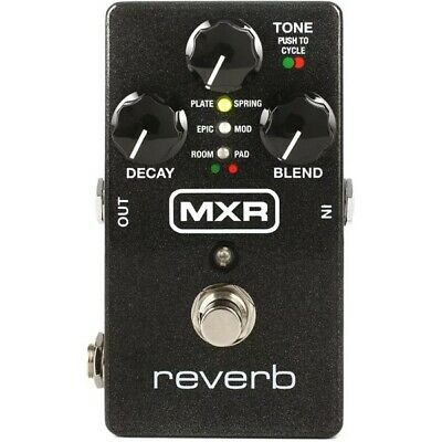 MXR M300 FX Pedal Reverb Effects for Electric Guitar