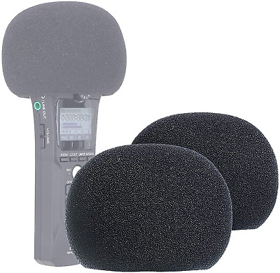 YOUSHARES Zoom H1n & H1 Recorder Foam Windscreen, Wind Cover Pop Filter Fits H1n • 10.66£