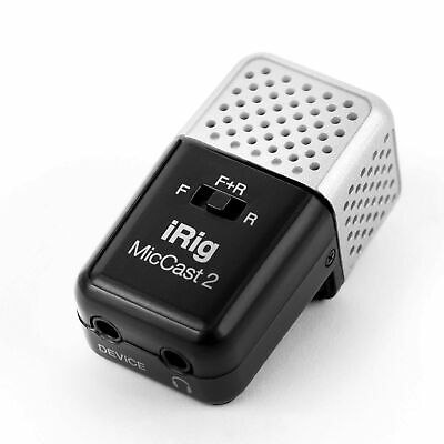 IK Multimedia IRig Mic Cast 2   Voice Recording Microphone For IPhone, IPad A... • 72.99£