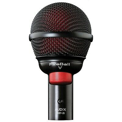 Audix Fireball-V Dynamic Microphone For Harmonicas • 174.99£