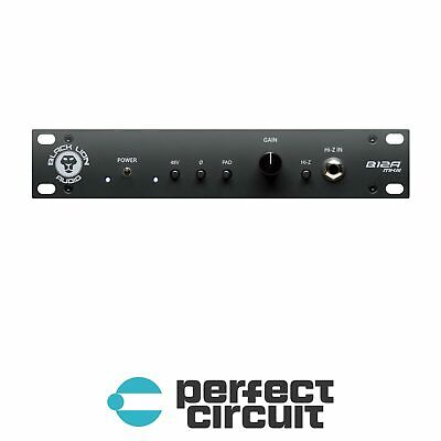 Black Lion Audio B12A MkIII Mic / Instrument PREAMP - NEW - PERFECT CIRCUIT