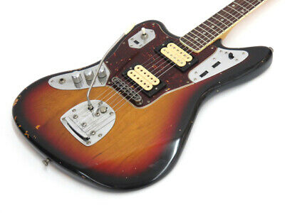 Fender Mexico Kurt Cobain Jaguar LH Sunburst Ship From Japan 1105 • 1,792.79£