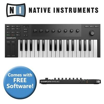 Native Instruments Komplete Kontrol M32 USB Keyboard Controller + Software • 69£