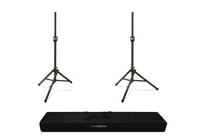 2x Ultimate Support TS-90B Lift-Assist Speaker Stand + Carry Bag 90D • 179.83£