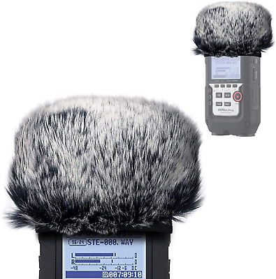 Furry Outdoor Microphone Windscreen Muff For Zoom H4N Pro Portable Digital Zoom • 14.05£