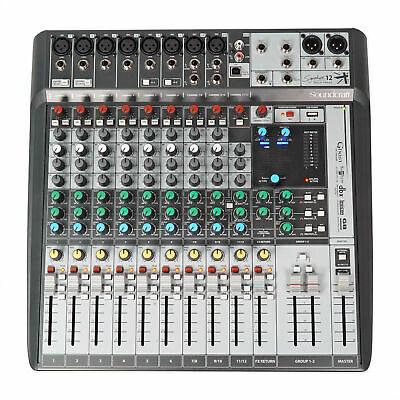 Soundcraft Signature 12 MTK 12MTK Mixer W/ 14 In/12 Out Recording USB Interface • 289.68£