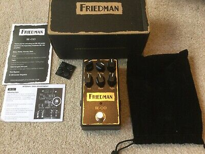 Friedman BE-OD Overdrive Near Mint Barely Used • 145£