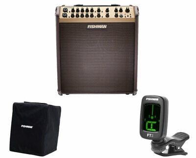 Fishman Loudbox Performer With Bluetooth + Cover + Tuner • 603.31£