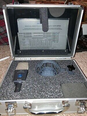 Akg C414 Xls Condenser Microphone, Barely Used • 532£