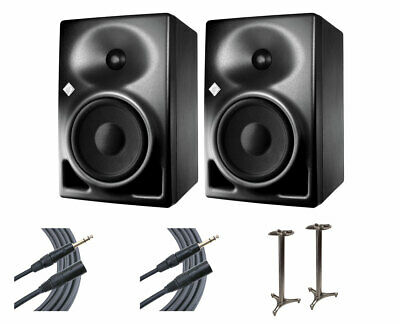2x Neumann KH120A Active Speaker Monitors + MS-90/45B MKII + Mogami Cables • 1,029.38£